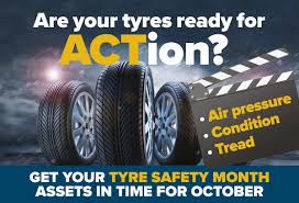 Tyre Safety Month – Make Sure Your Tyres Are Ready For ACTion